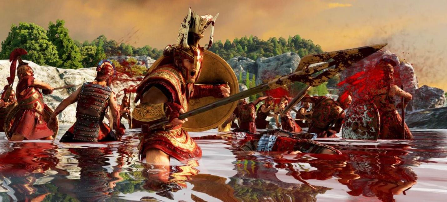 Для Total War Saga: Troy вышло кровавое дополнение Blood & Glory