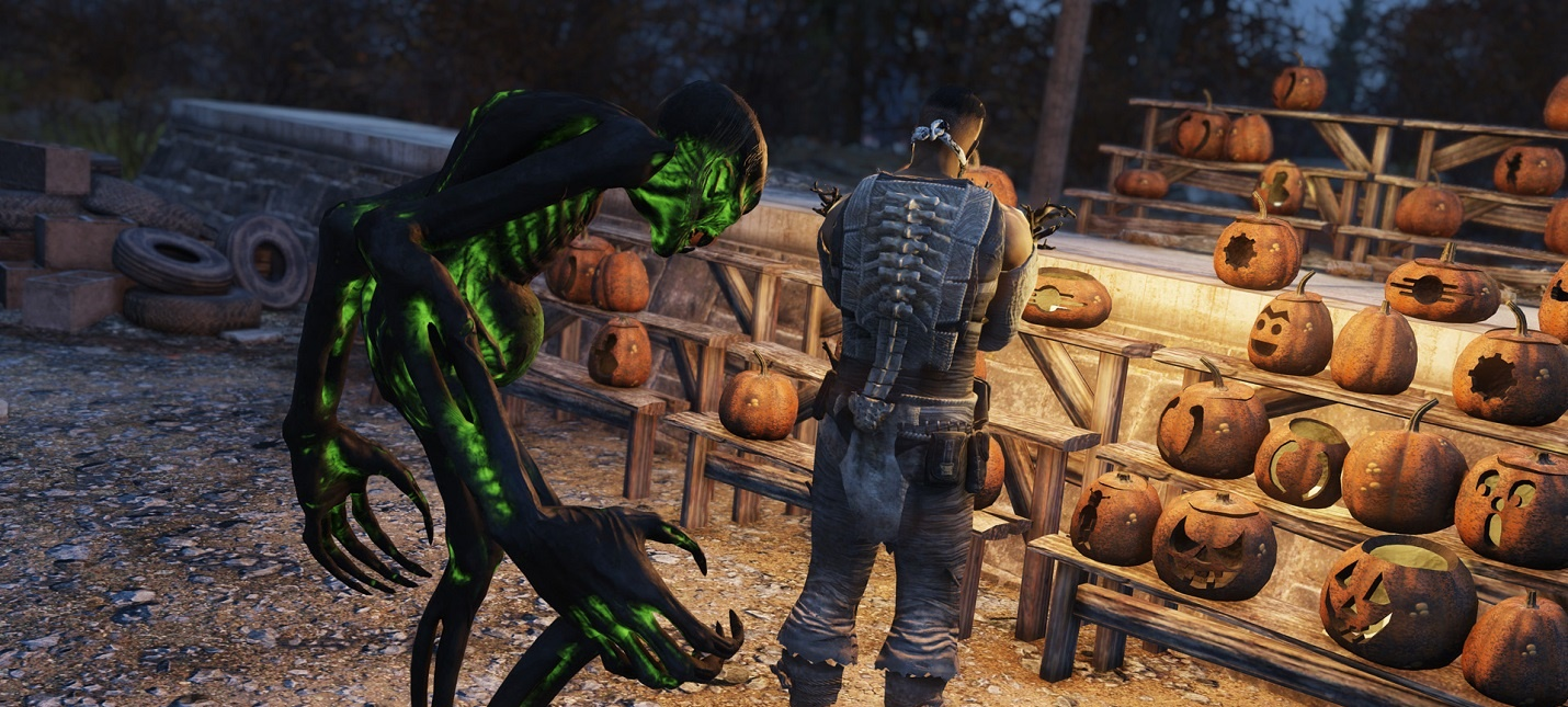 В Fallout 76 началось празднование Хэллоуина