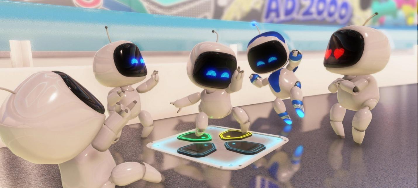 Разработчики Astro's Playroom ускорили загрузки свежим патчем