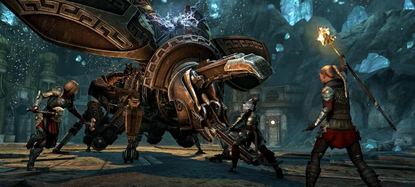 Для The Elder Scrolls Online вышло дополнение Маркарт