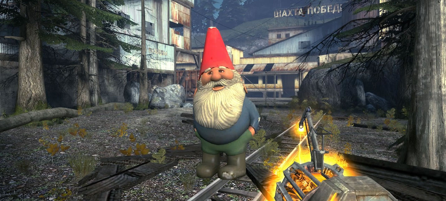 Гейб Ньюэлл отправит в космос садового гнома из Half-Life 2: Episode Two