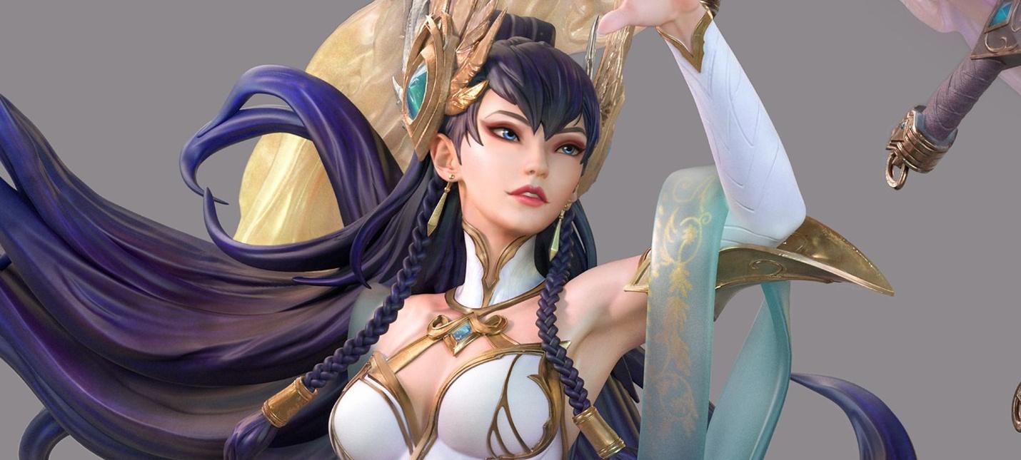 Открылся предзаказ на фигурку Ирелии из League of Legends за тысячу долларов