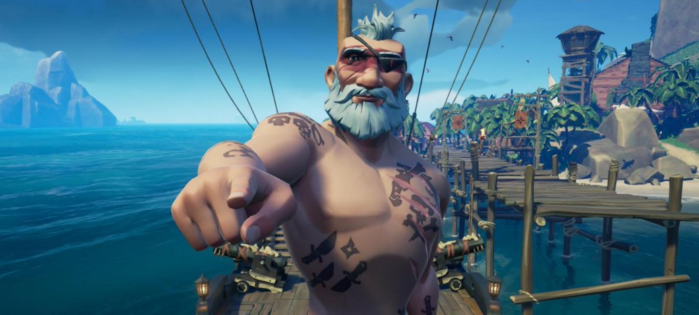 4K60fps  подробности апгрейда Sea of Thieves для Xbox Series