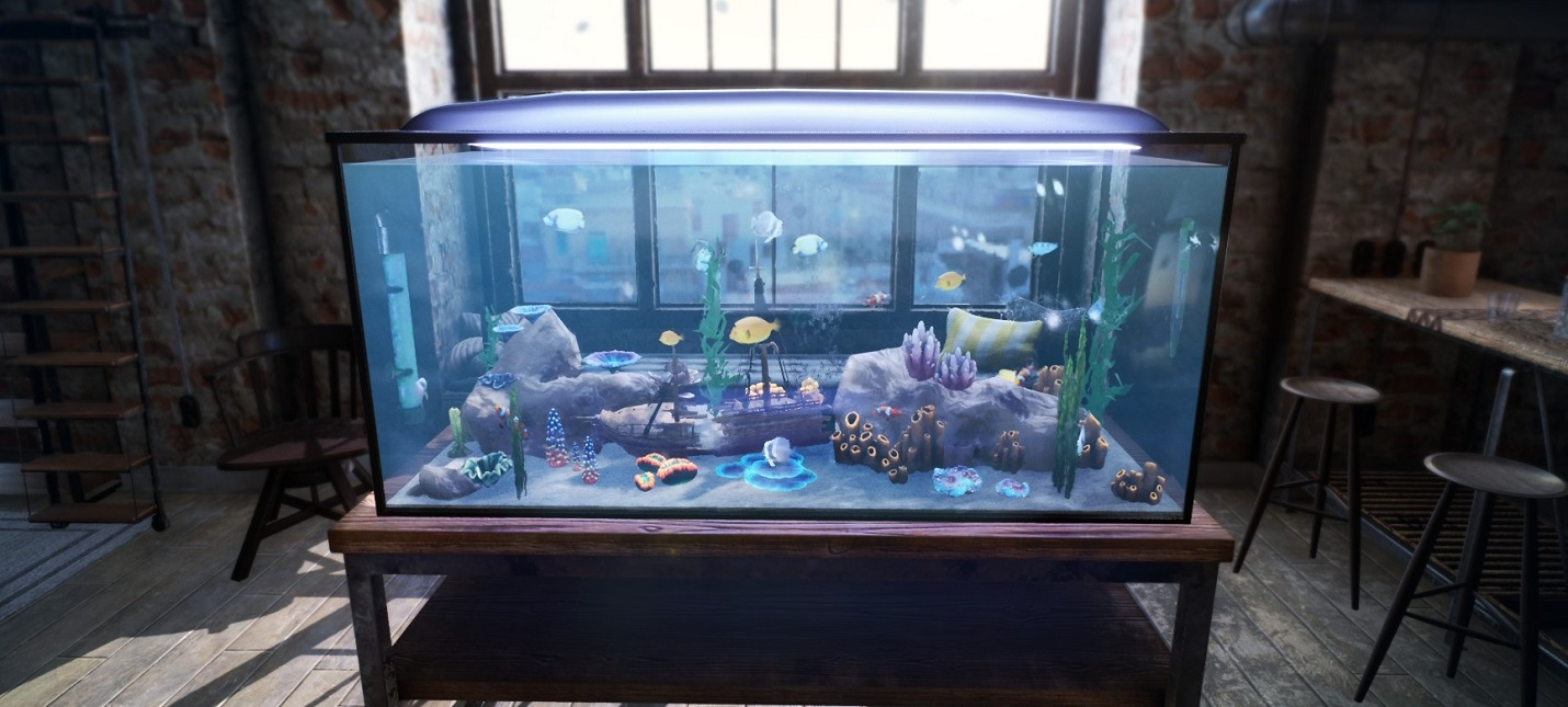 Управляющий аквариумом  первый трейлер Fishkeeper