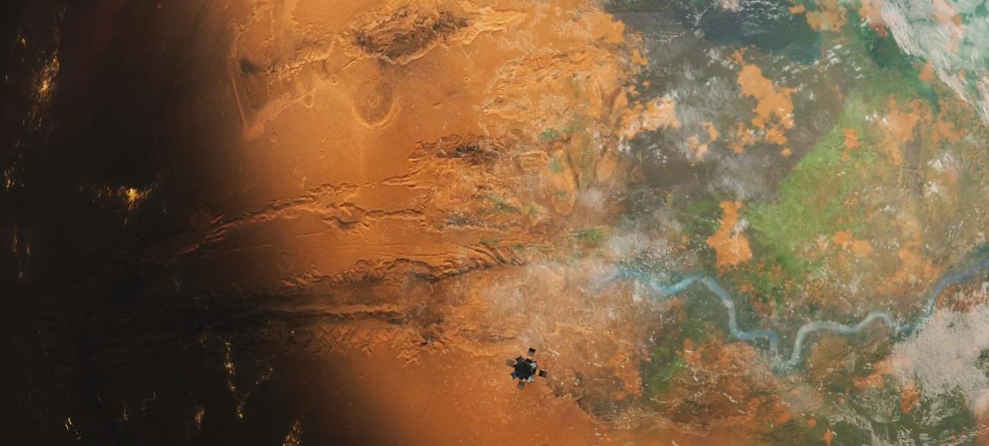 Терраформирование Марса в новом трейлере градостроительной стратегии Per Aspera