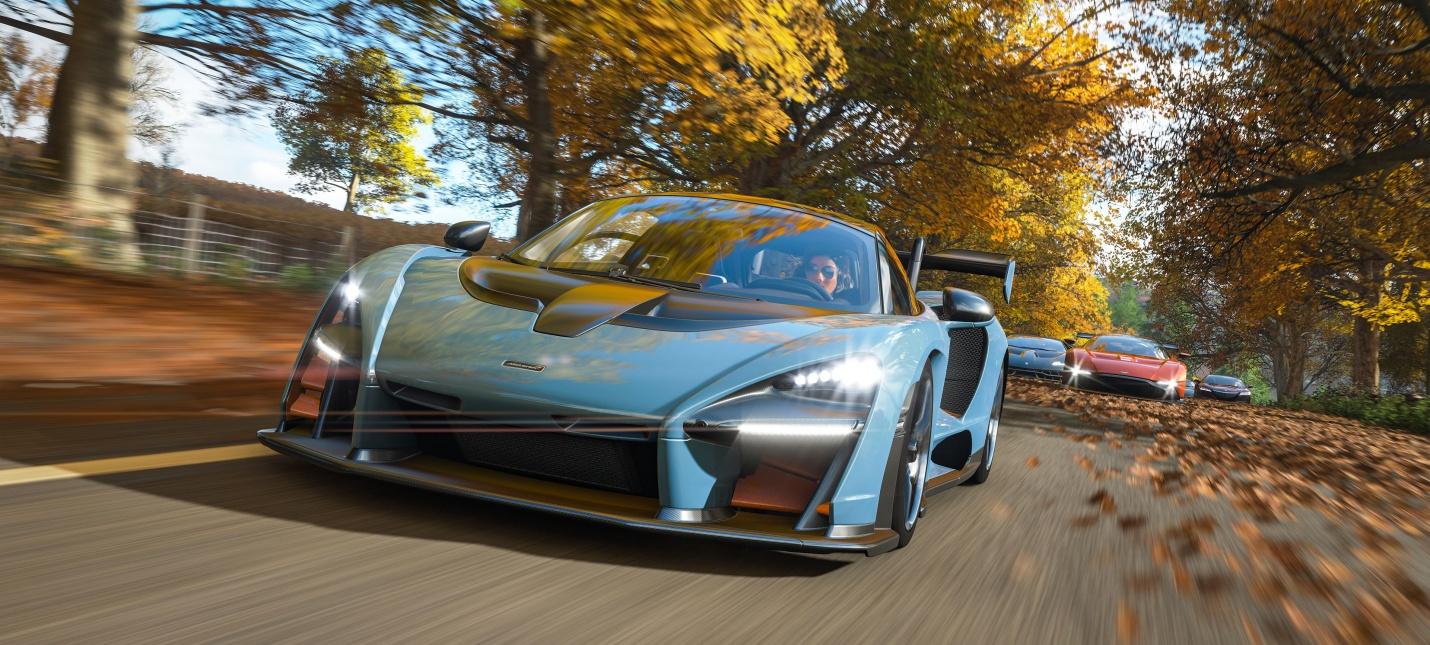 Сравнительное видео Forza Horizon 4 на Xbox Series X и Xbox One X