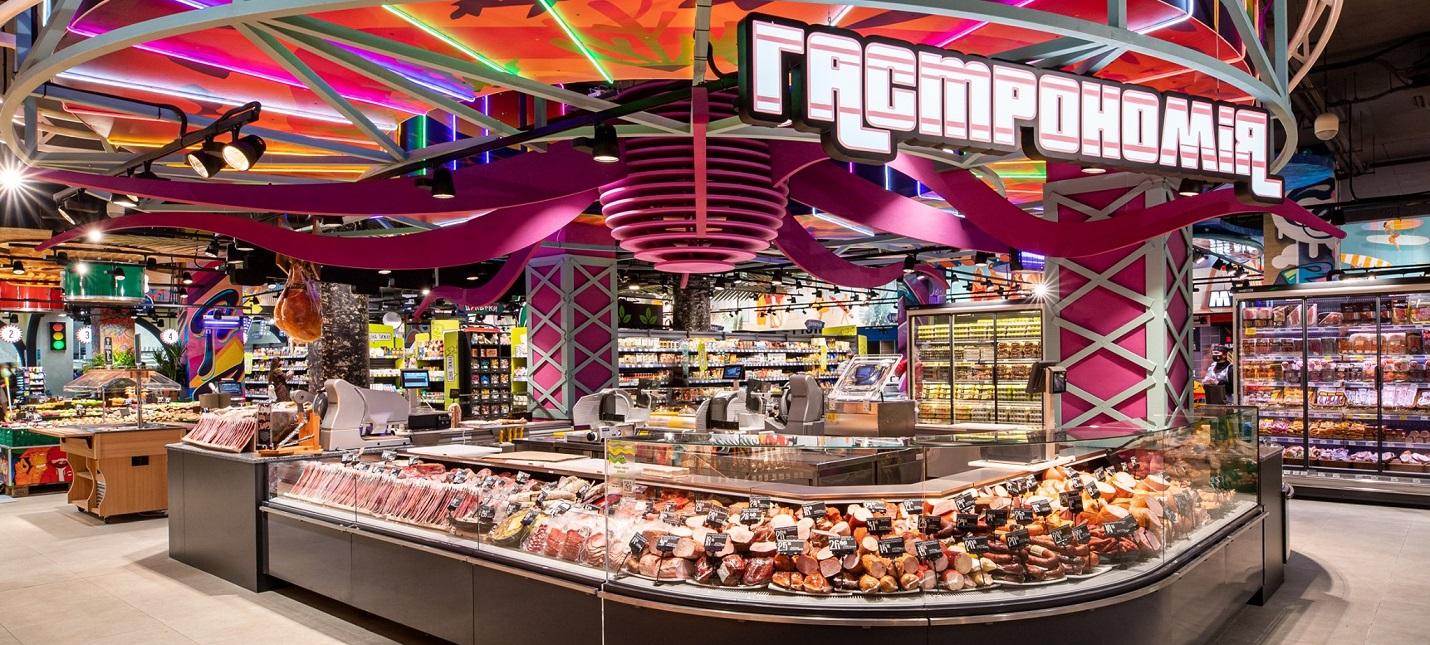 В Украине открыли супермаркет в стиле GTA