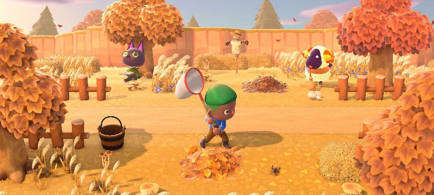 Рыба, грибы и осень в трейлере ноябрьского обновления Animal Crossing New Horizons
