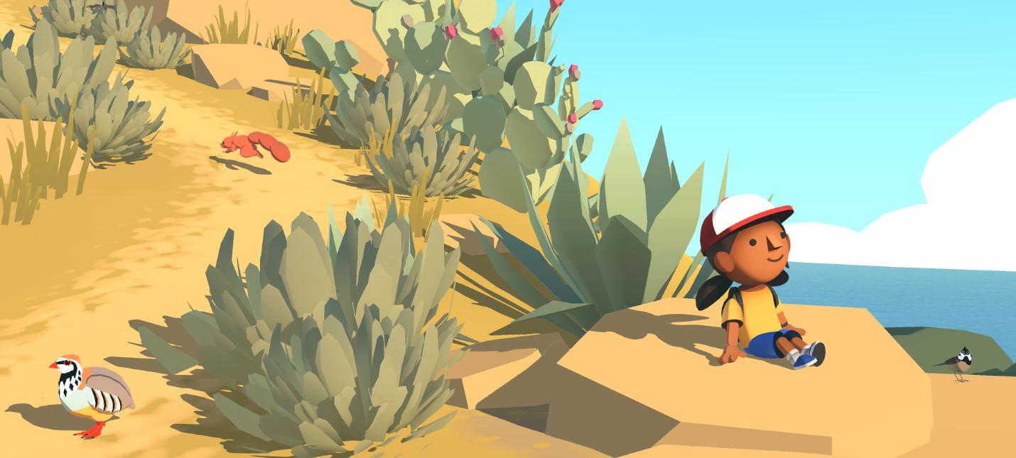 Первый геймплейный трейлер Alba a Wildlife Adventure от разработчиков Monument Valley