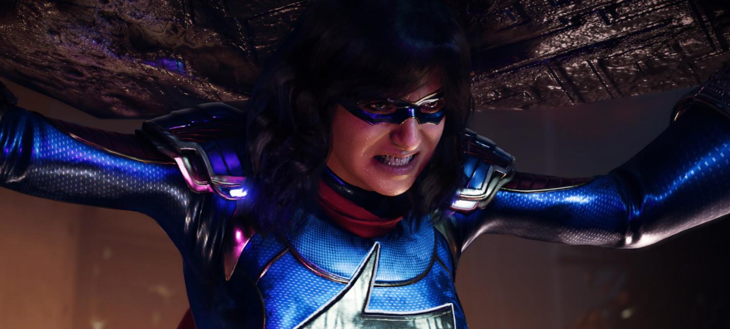 Количество единовременных игроков Marvels Avengers в Steam за два месяца упало на 96