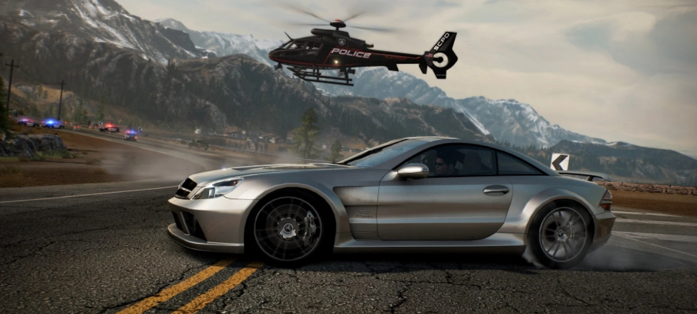Видеосравнение оригинала и ремастера Need for Speed: Hot Pursuit