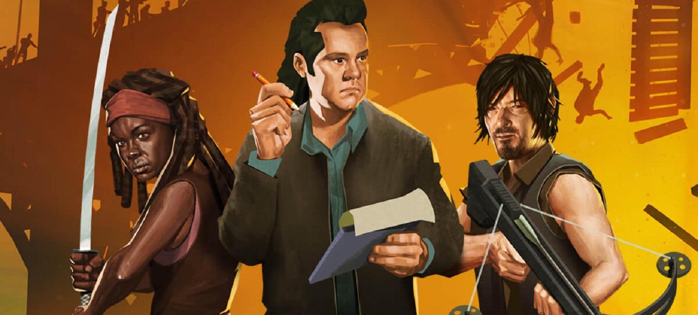 Убийство зомби и главные герои шоу в новом трейлере Bridge Constructor The Walking Dead