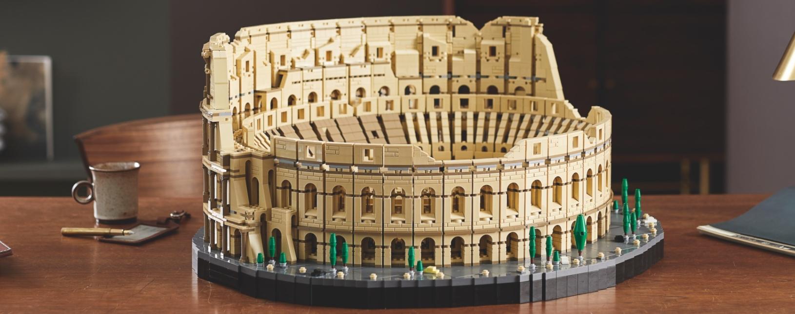 LEGO выпустит самый большой набор в истории  Колизей на 9036 деталей