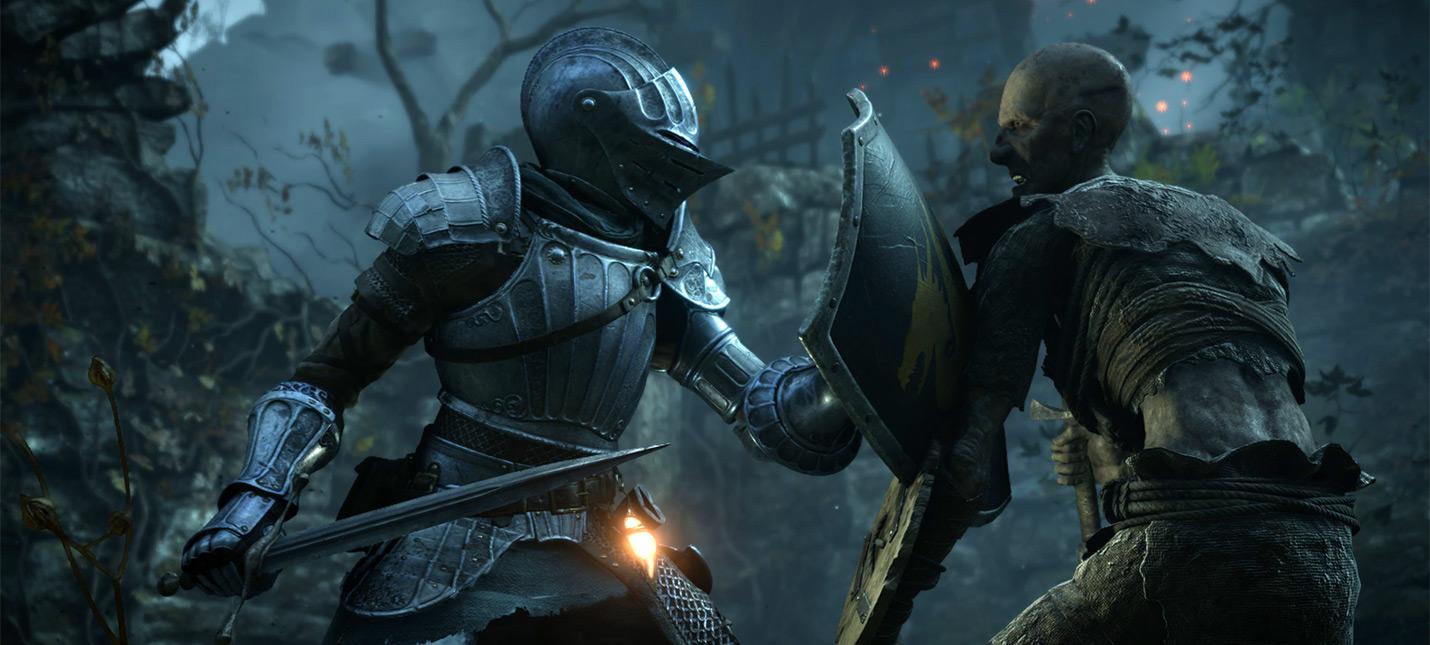 Игроки Demons Souls пытаются открыть загадочную дверь, которой не было в оригинале