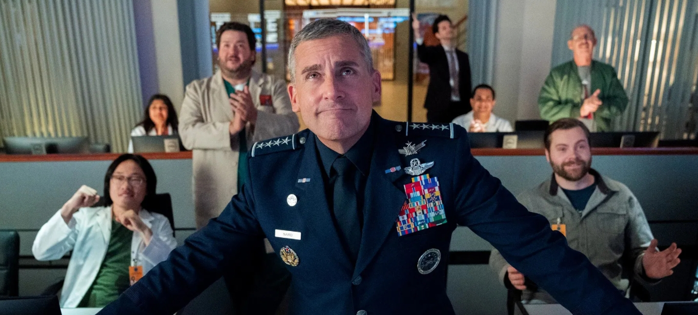 Netflix продлил сериал Космические силы со Стивом Кареллом на второй сезон