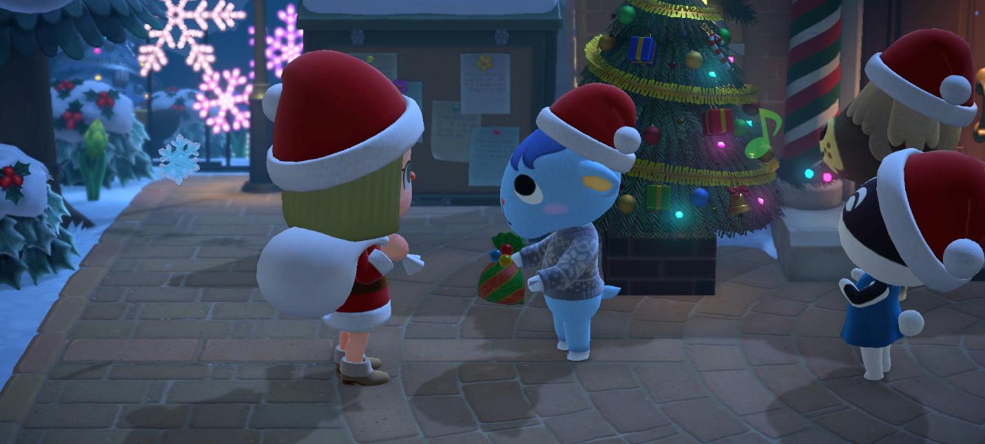 Зимнее обновление для Animal Crossing: New Horizons выйдет 19 ноября