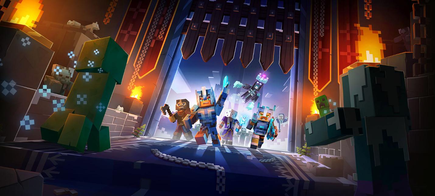 Minecraft Dungeons получила поддержку кроссплея