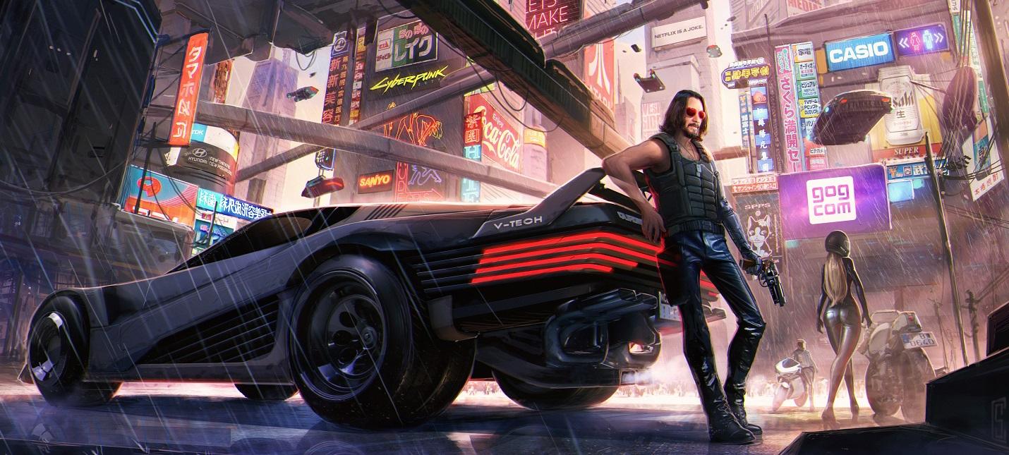 Первый геймплей Cyberpunk 2077 на Xbox
