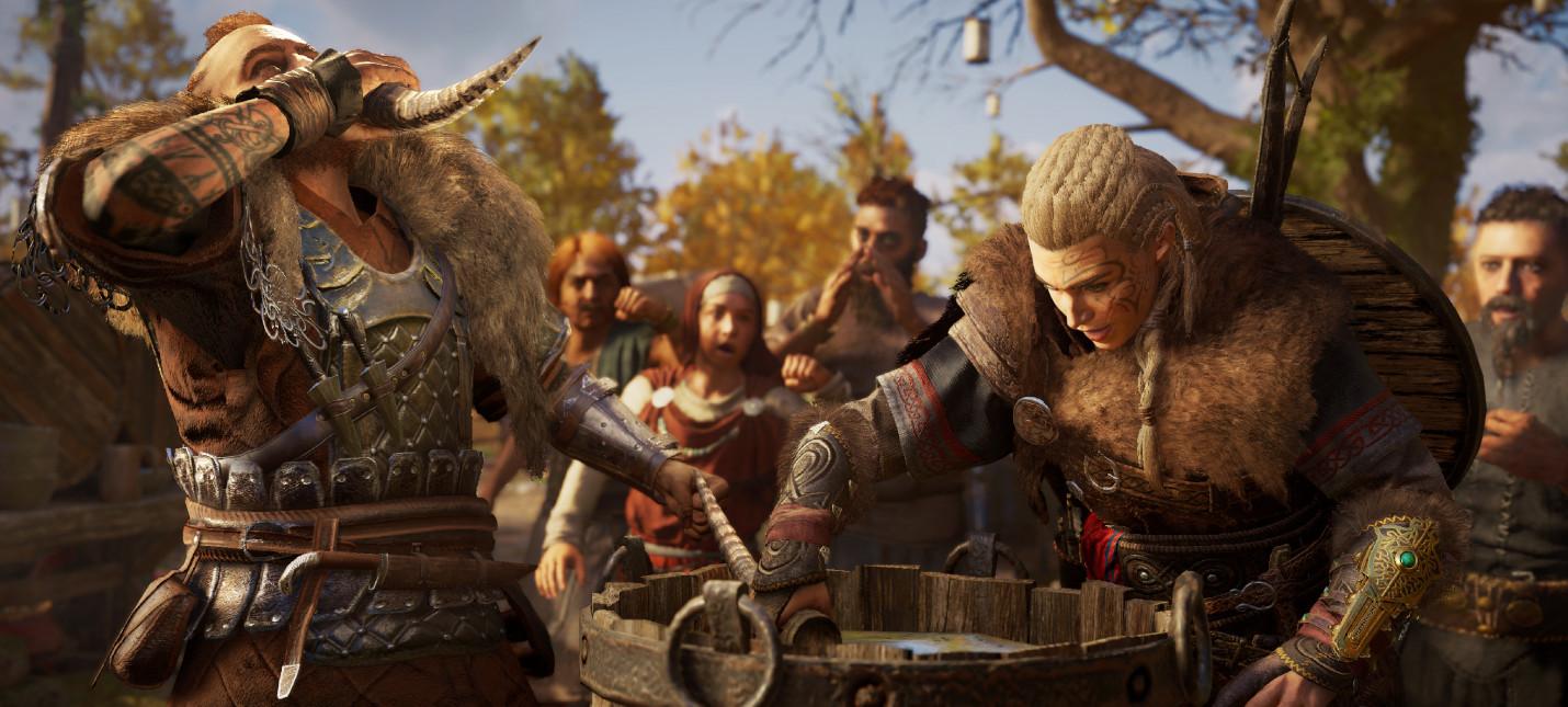 Assassin's Creed Valhalla показала лучший старт в истории серии