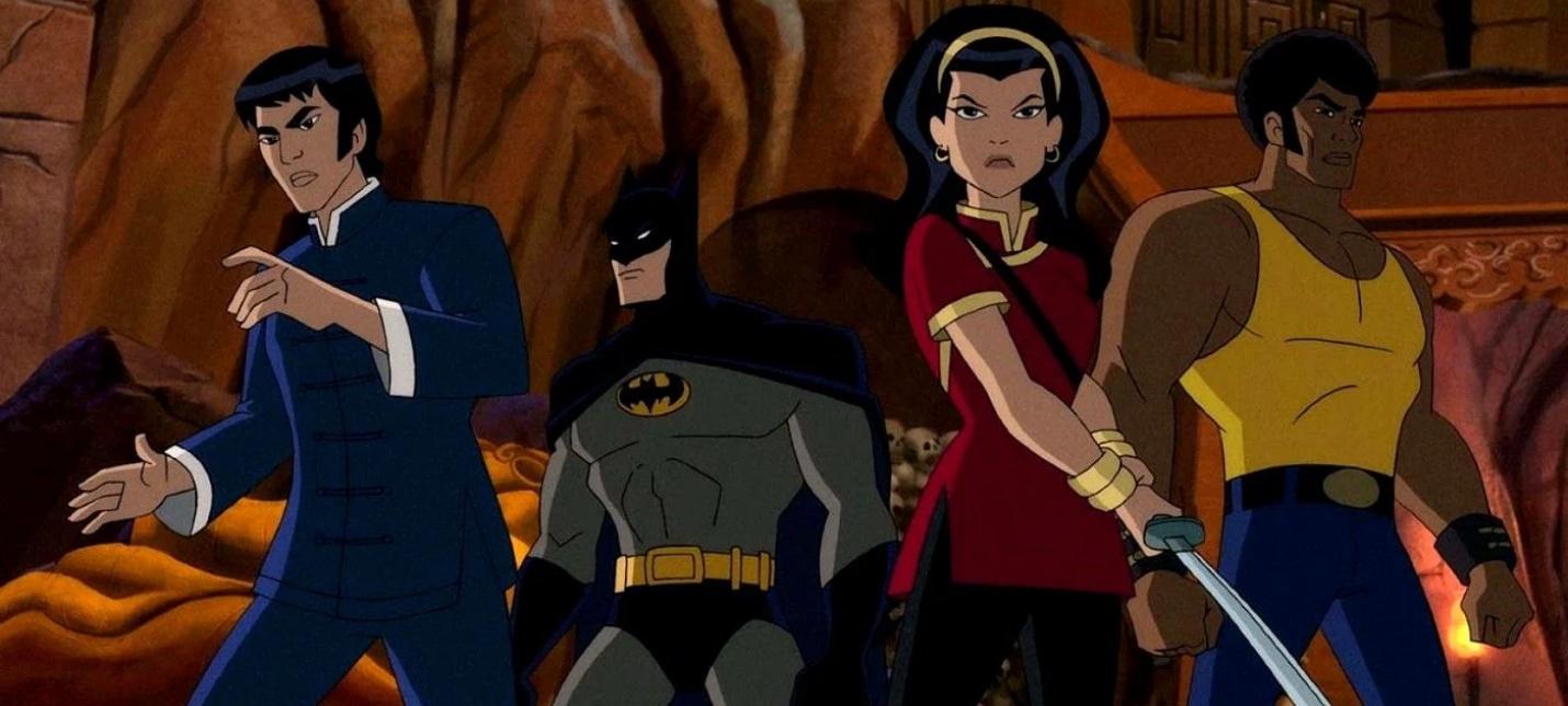 Бэтмен в 70-х  первый трейлер мультфильма Batman Soul of the Dragon
