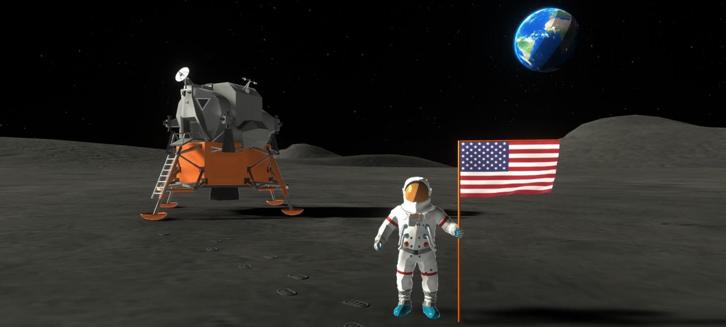 Релизный трейлер симулятора космической программы Mars Horizon
