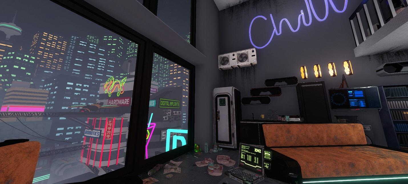 19 ноября House Flipper получит дополнение Cyberpunk