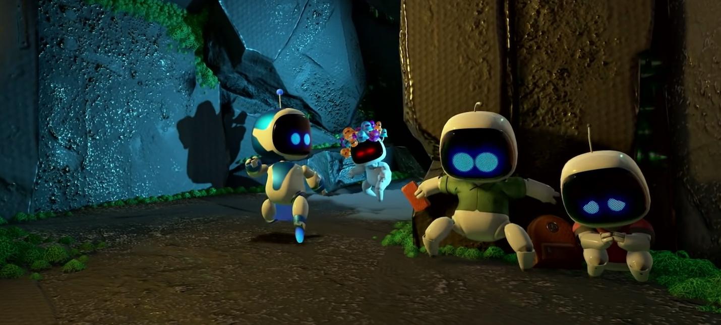 В Astros Playroom нашли 64 отсылки к другим играм PlayStation