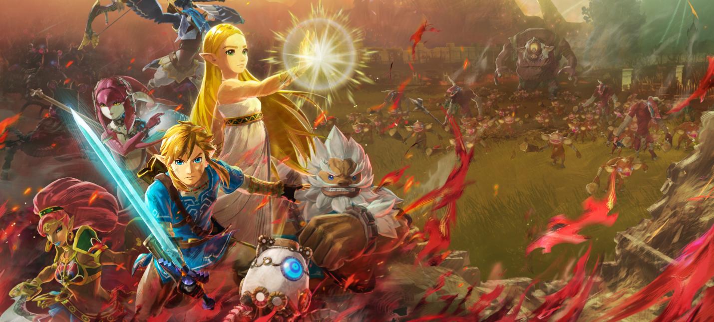 Релизный трейлер и оценки Hyrule Warriors: Age of Calamity