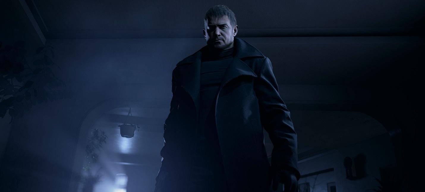 Оборотень Крис Редфилд на новом арте Resident Evil Village