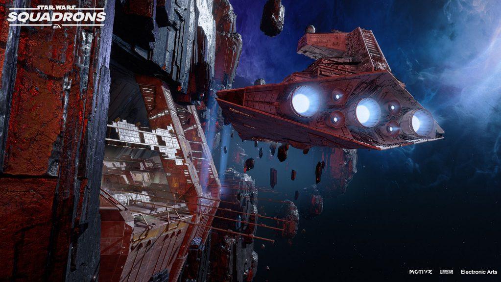 До конца года в Star Wars: Squadrons появится новая карта и два корабля