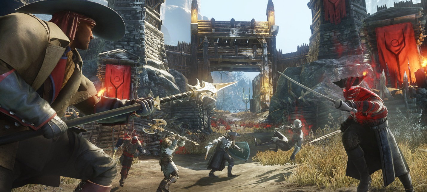 Рыбалка и PvE-сражения в геймплее MMORPG New World