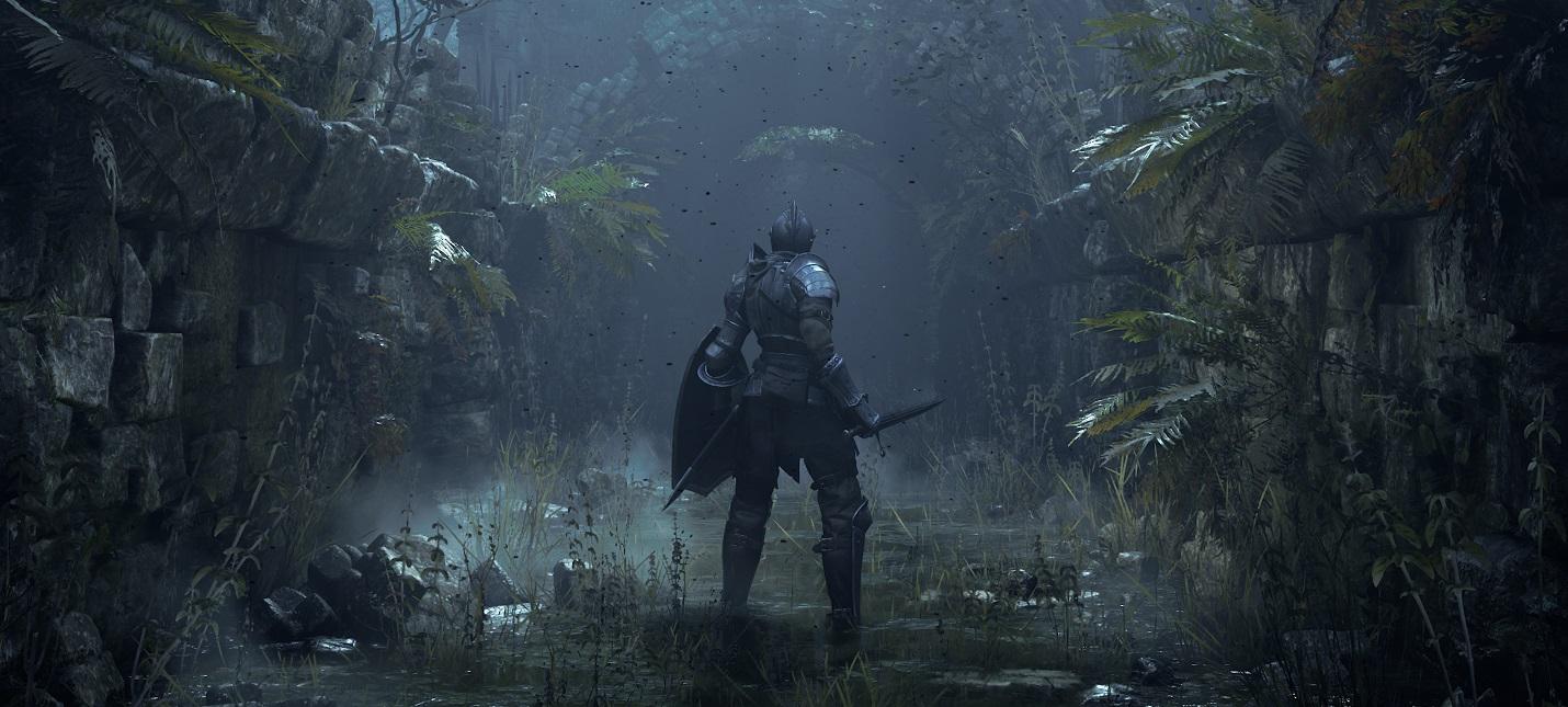 Игроку ремейка Demon's Souls удалось открыть потайную дверь