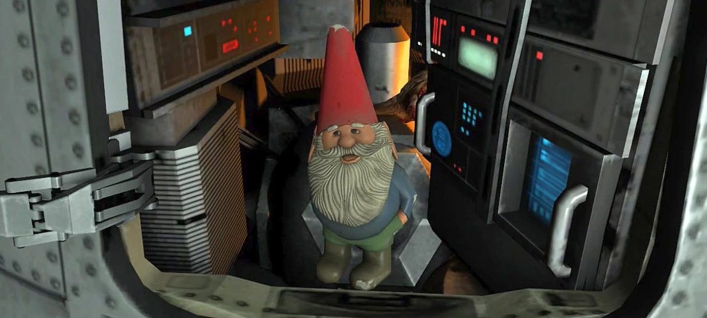 Гейб Ньюэлл запустил гнома в космос и теперь в Haf-Life 2 Эпизод 2 появилось новое достижение