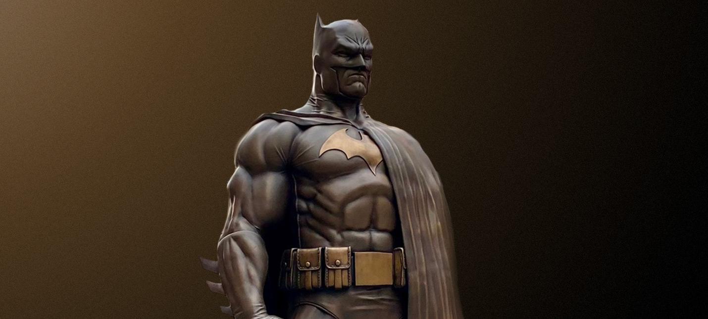 В Калифорнии установили 2.3-метровую статую Бэтмена