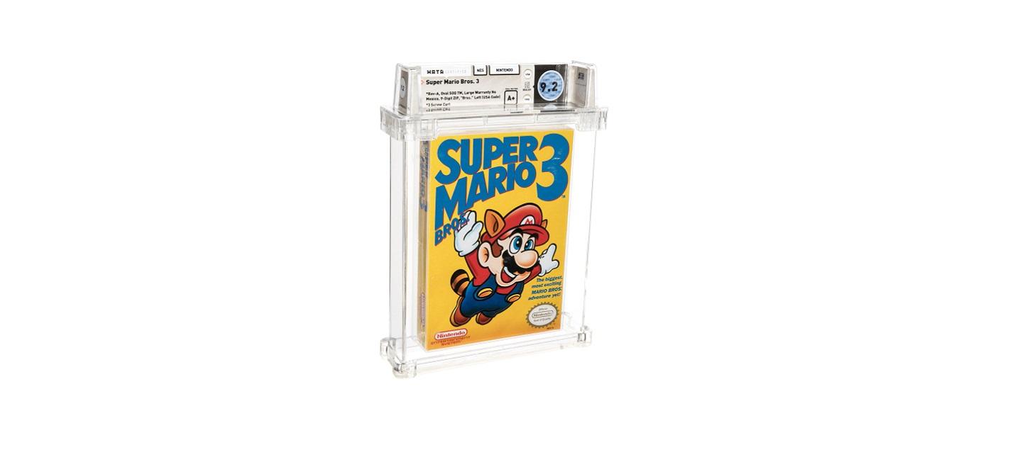 Редкая копия Super Mario Bros. 3 стала самой дорогой игрой в мире