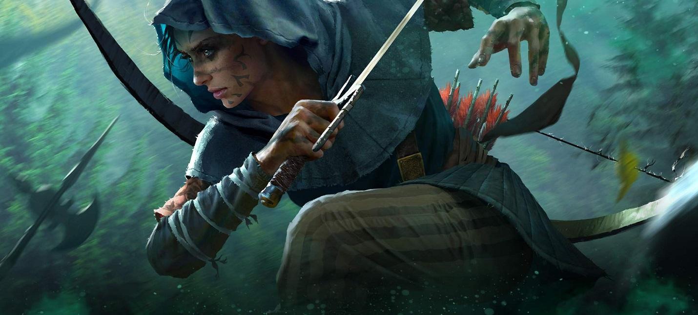 Описание двух ведущих персонажей The Witcher Blood Origin  приквела Ведьмака от Netflix