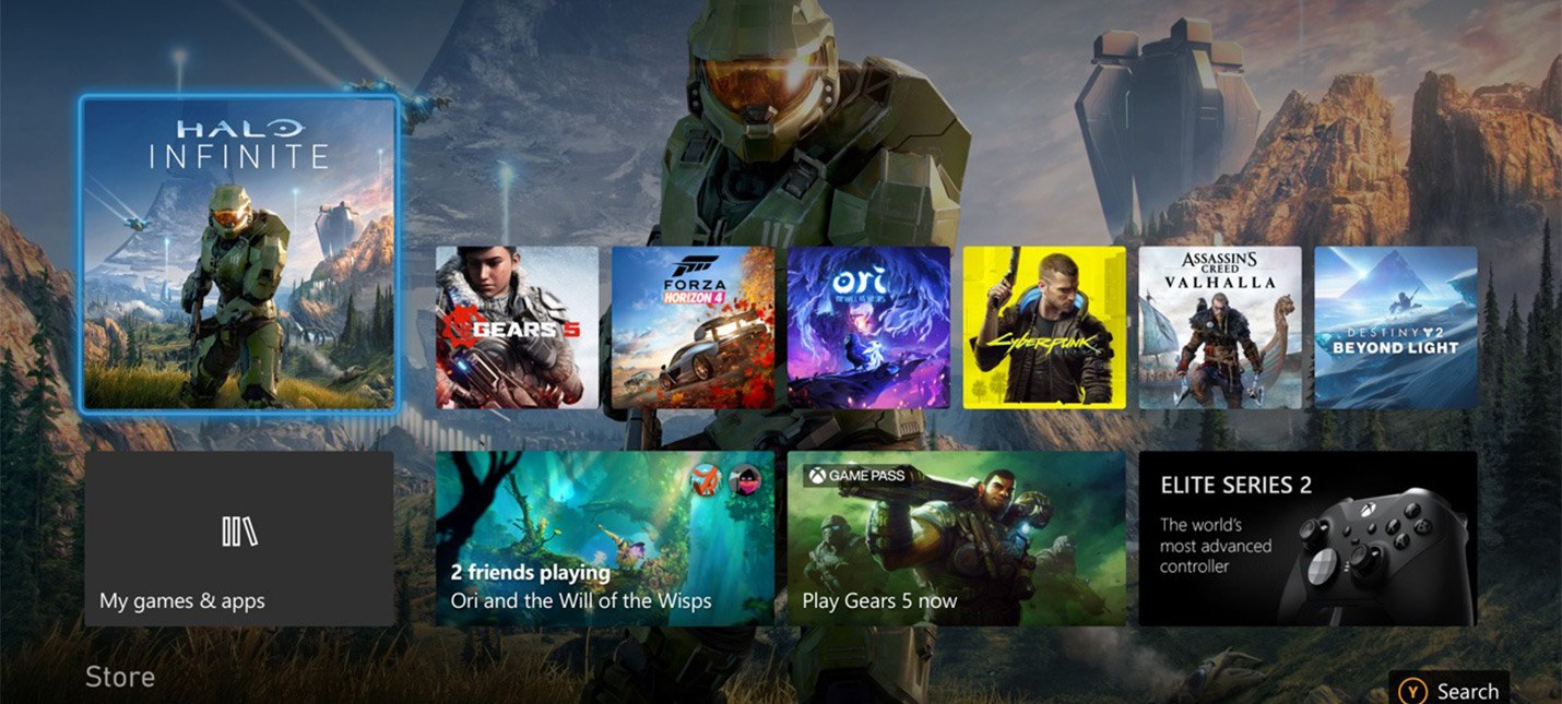 На Xbox Series X влезает около 10 AAA-игр
