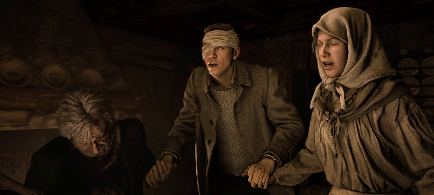 Утечка Судьба персонажей и 17 катсцен Resident Evil Village