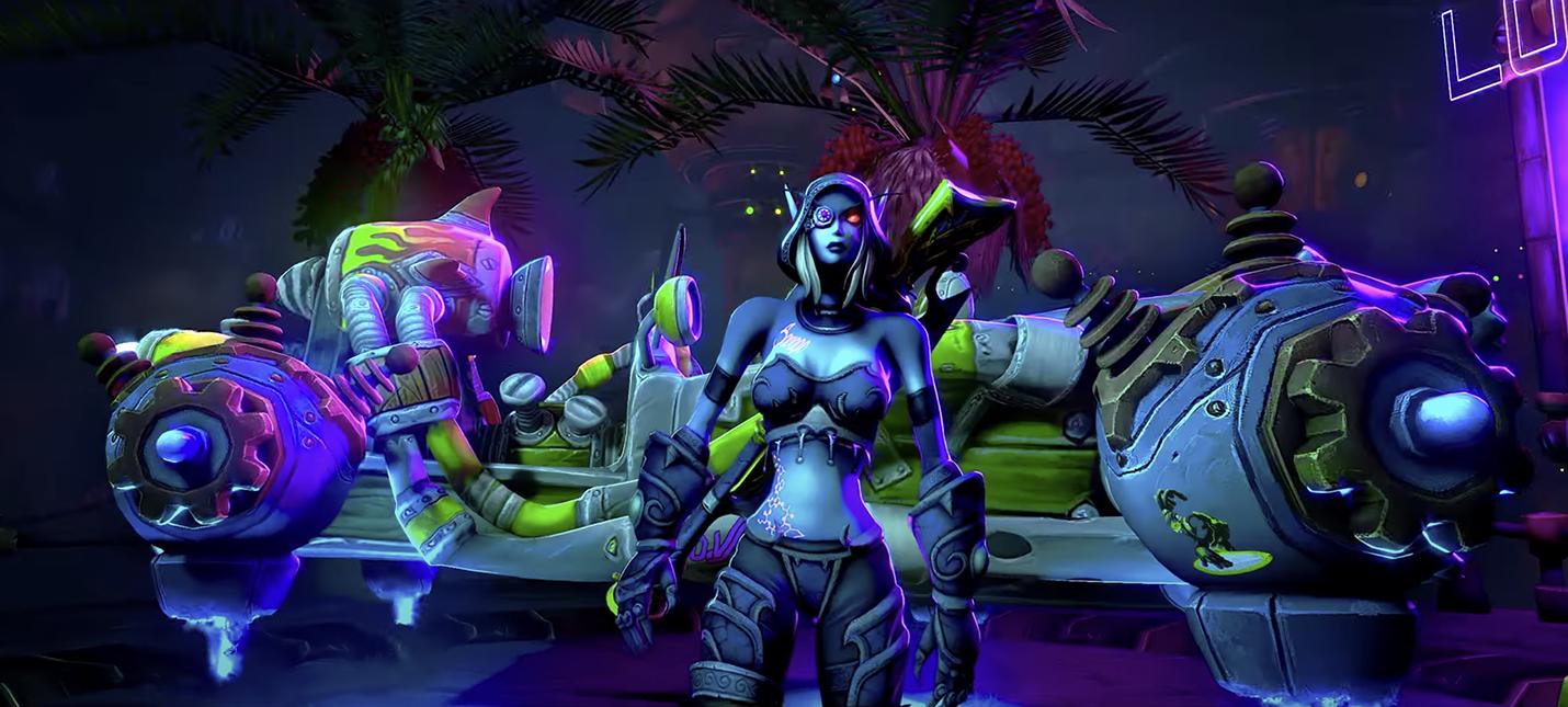 Добро пожаловать в мир CyberCraft  шикарный кроссовер WoW и Cyberpunk 2077