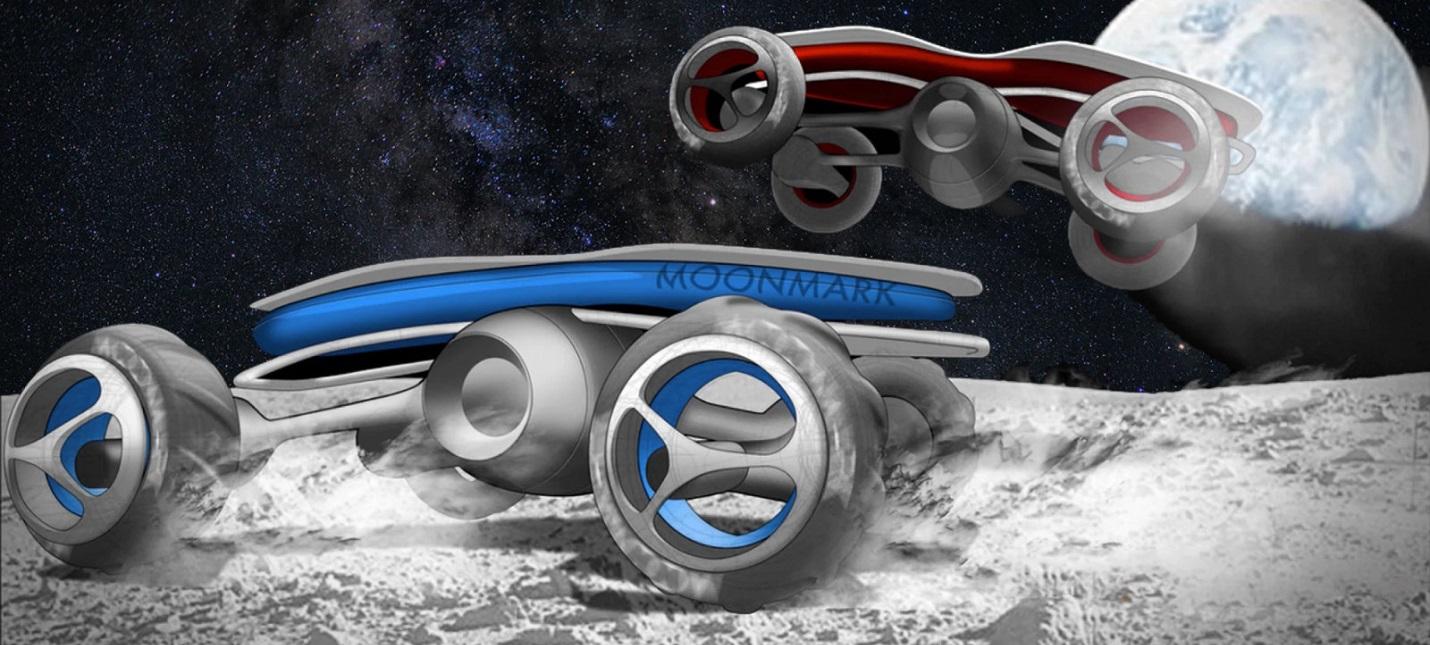 В следующем году на Луне проведут гонки роверов