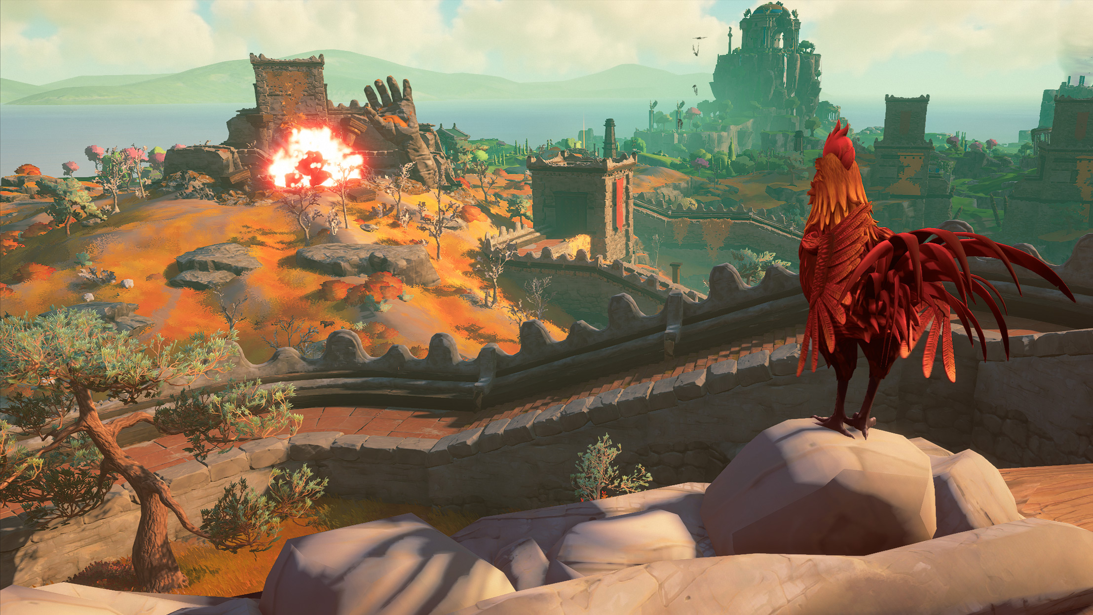 Капризные Боги: Обзор Immortals Fenyx Rising