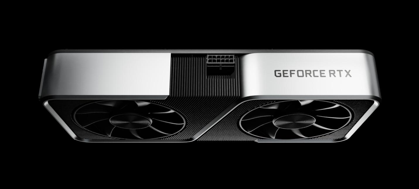 Nvidia анонсировала видеокарту GeForce RTX 3060 Ti
