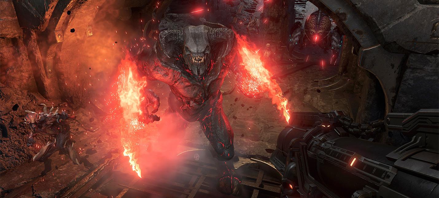 В DOOM Eternal добавили мастер-уровень Кровавое супергнездо