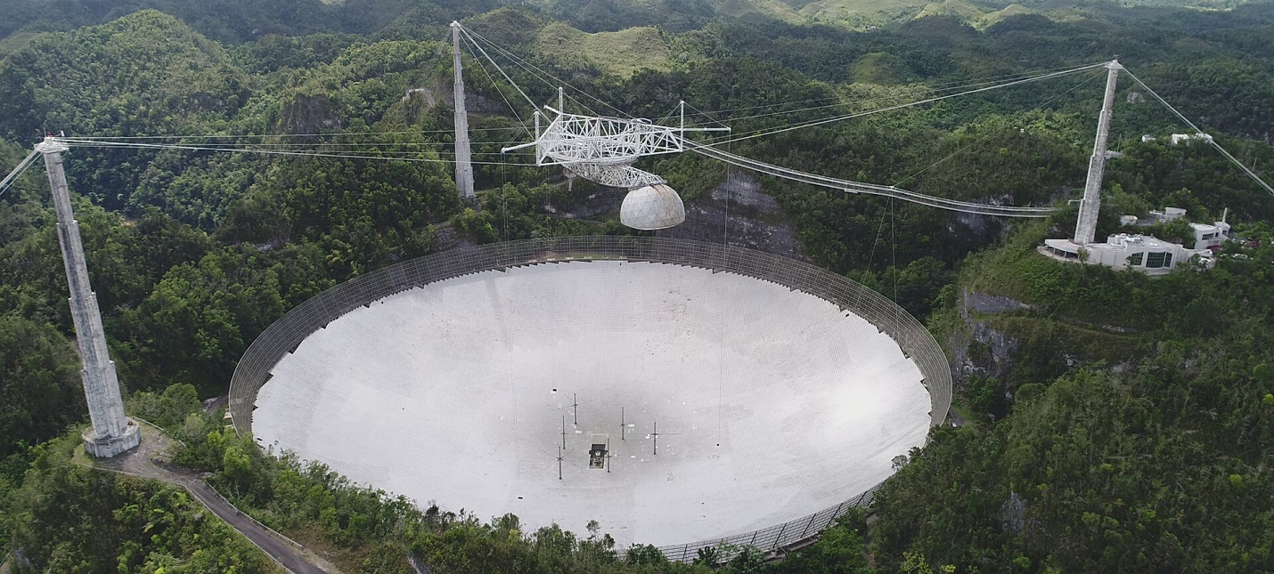 В Аресибо обрушился второй по величине в мире радиотелескоп