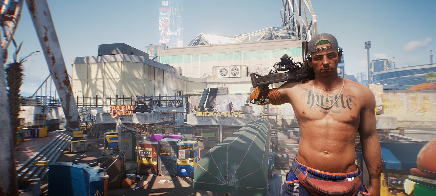 Слух Патч первого дня для Cyberpunk 2077 на PS4 составит 56 ГБ