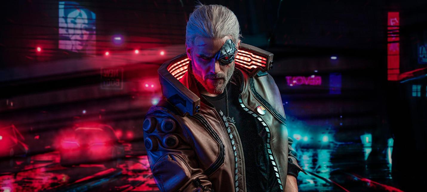 Актер озвучки Геральта не участвует в создании Cyberpunk 2077
