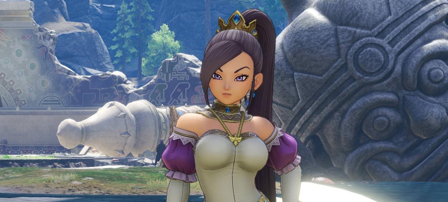 Square Enix оставила в продаже Switch-версию Dragon Quest XI