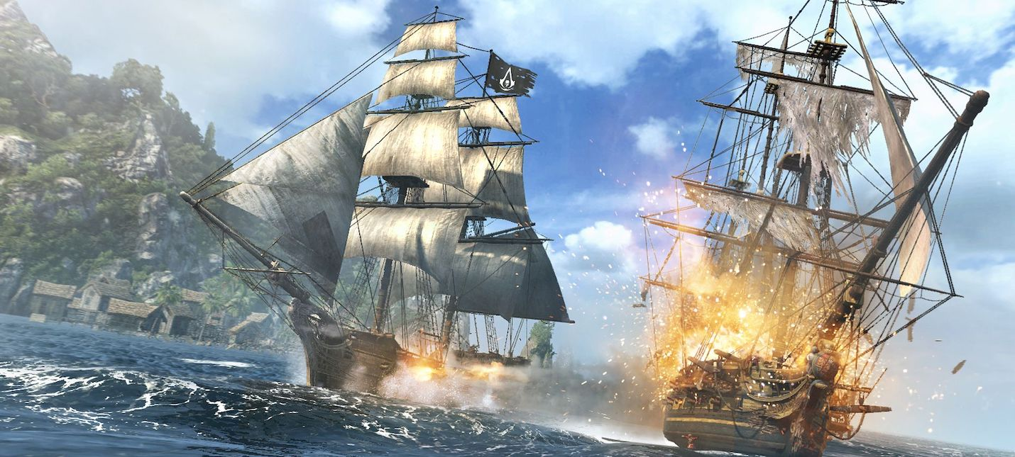 В очередном учебнике по истории опубликовали арт из Assassins Creed Black Flag