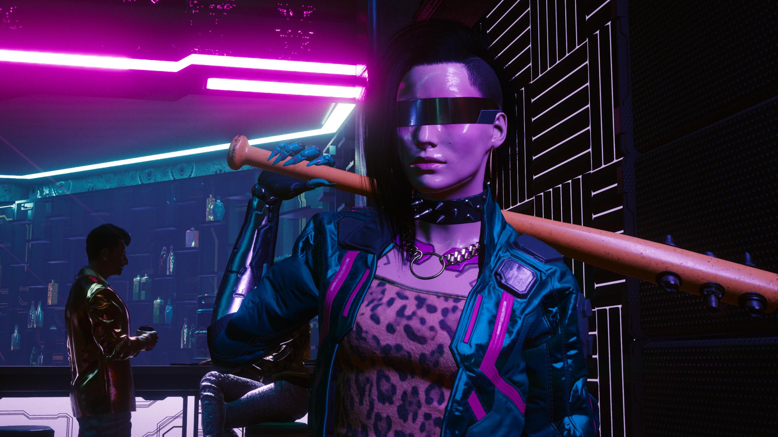 Толстяки, хромированные люди, киборги, прекрасные девушки и другие NPC с улиц Cyberpunk 2077