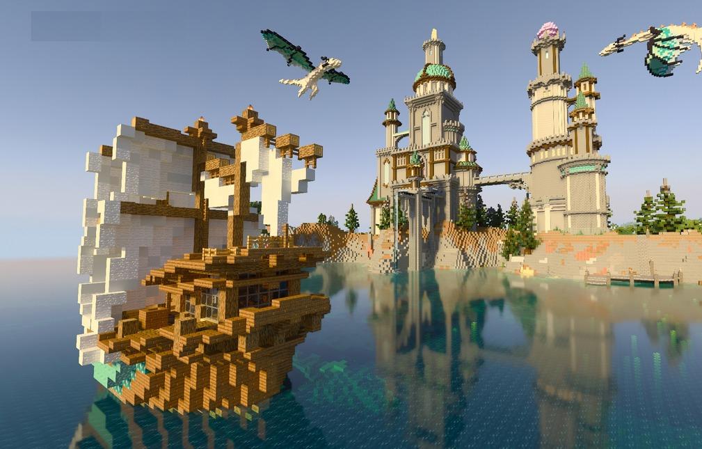 Состоялся релиз Minecraft c RTX